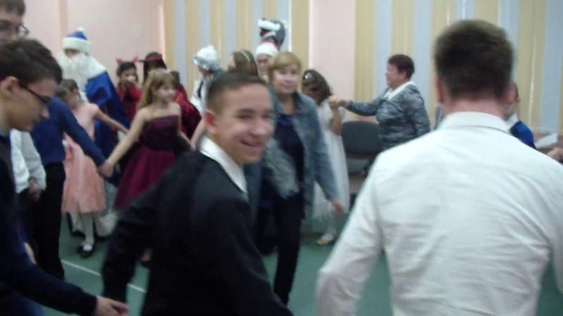 2018 12 25 Новый год 7-12 классы ГБОУ СО Школа-интернат АОП №3 г. Саратова
