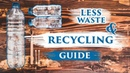 RECYCLING REDUCING / ZERO WASTE beginner's GUIDE