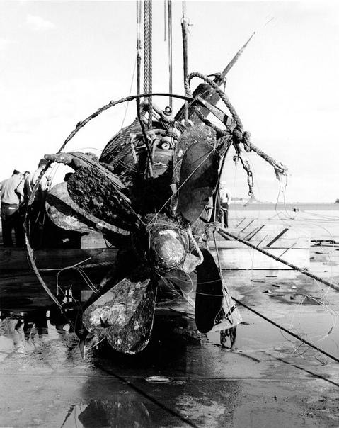 """Японская сверхмалая подводная лодка """"Тип А"""" участвовавшая в атаке на Пёрл-Харбор 7-го декабря 1941-го года"""
