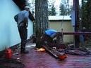 Как срубить дерево Мастер класс по валке деревьев в труднодоступных местах