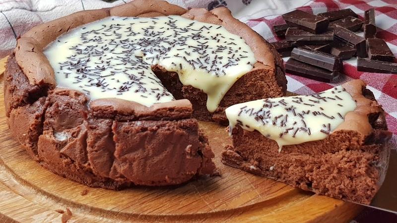 Tarta de queso y chocolate o cheescake de chocolate ¡VAS A ALUCINAR!