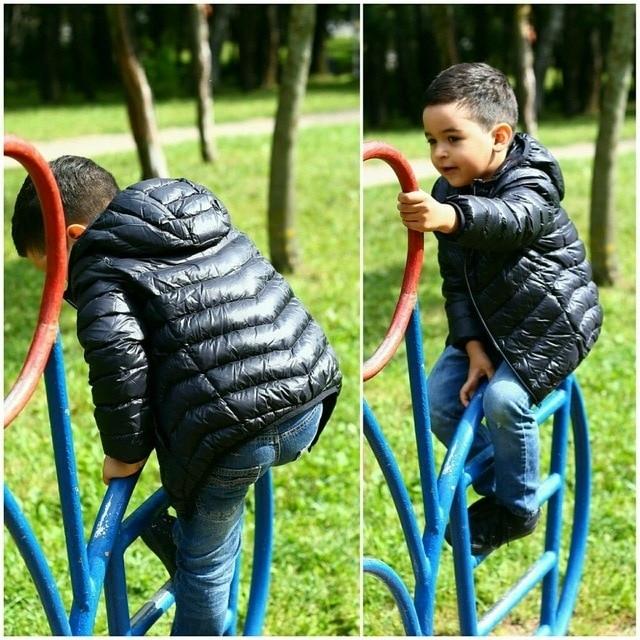 Легкая и теплая пуховая куртка