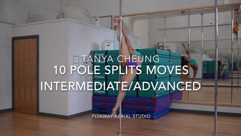 10 Pole Split Moves (IntermediateAdvanced level)