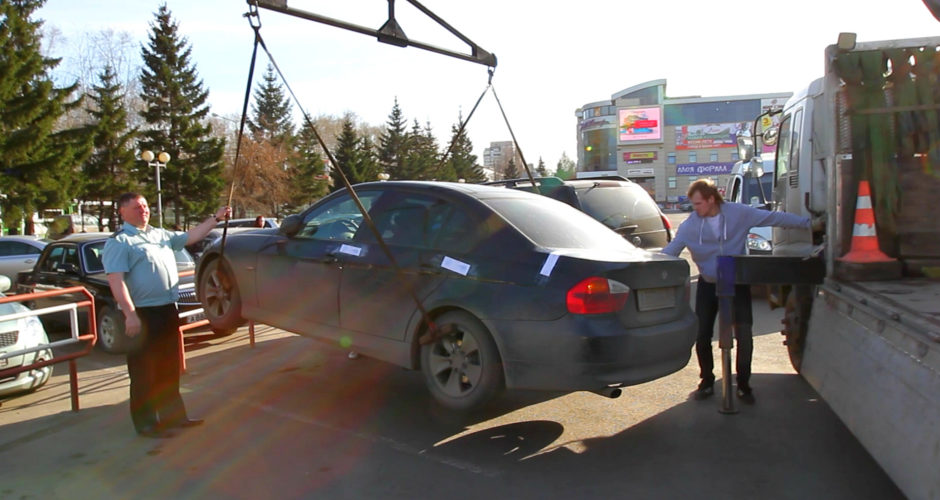 В Черкесске Автомобиль с Абхазскими номерами конфисковали в доход государства