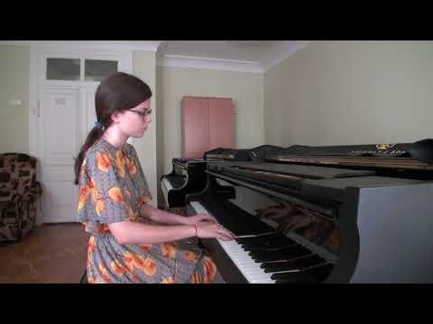 D. Shostakovich. Prelude and Fugue e moll. Performed By Alina Habibullina
