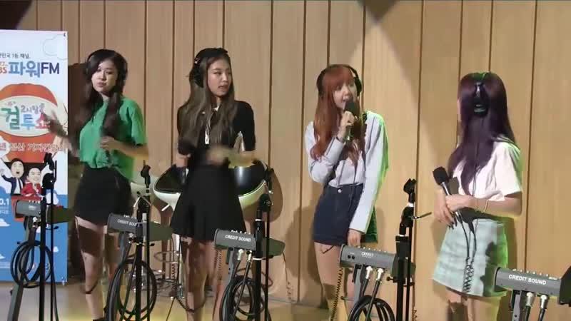BLACKPINK 블랙핑크 불장난 SBS 두시탈출 컬투쇼