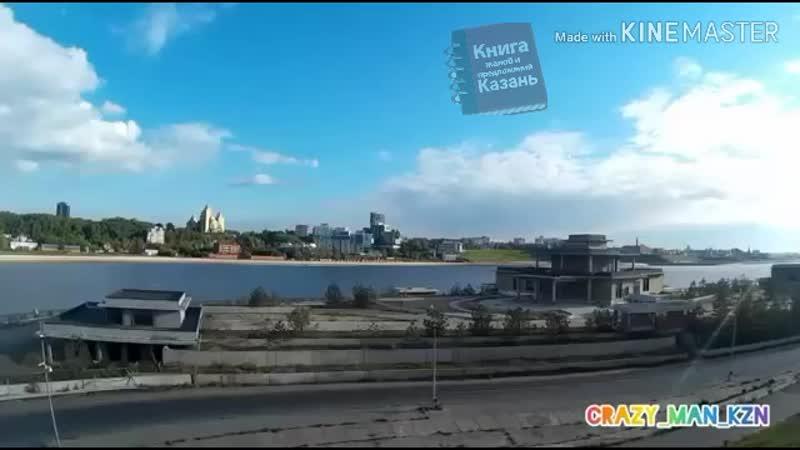 Руферы в Казани забрались на мост Миллениум в Казани.