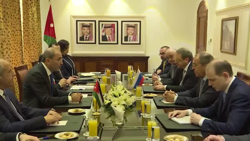 Вступительное слово Сергея Лаврова на встрече с Министром иностранных дел Иордании Айманом Сафади