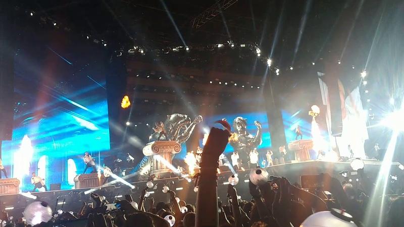 Dionysus/Not Today- BTS in Brazil 2019🌒✨ (PT1)