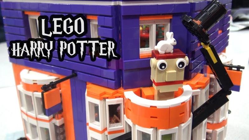 LEGO Weasleys' Wizard Wheezes with Full Interior Custom Harry Potter