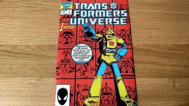 Original 1986 Transformers Universe 1 Book