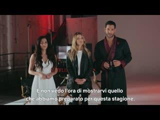 Люцифер / Lucifer.4 сезон.Видео со съёмок (2019) [1080p]