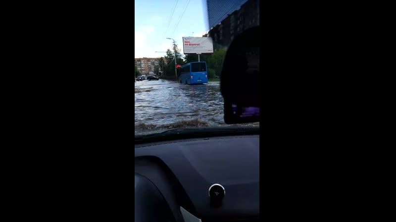 Потоп на интернациональной