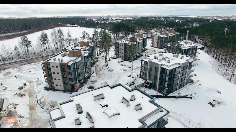 ЖК «Горки парк» - готовые квартиры в пригороде Санкт-Петербурга