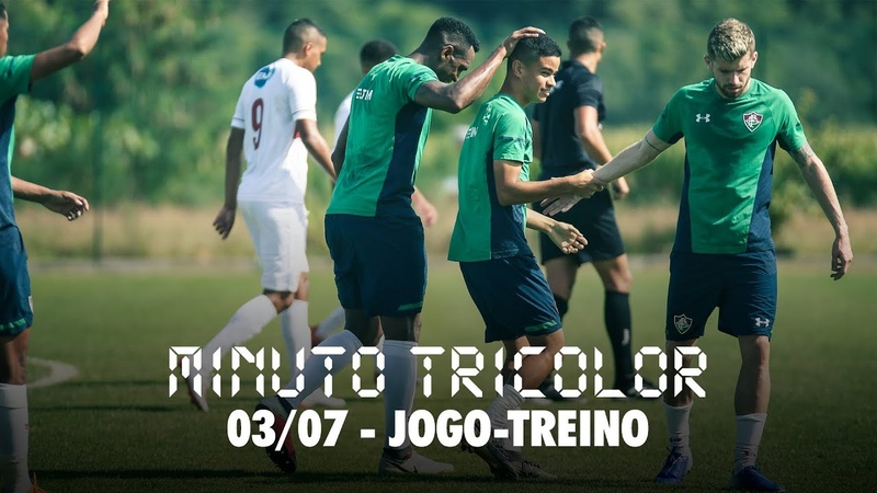 FluTV - Com golaço de falta de Miguel, Flu vence Grêmio Osasco em jogo-treino no CT