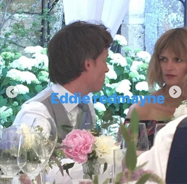 Как прошла свадьба Фелисити Джонс в 2018 году. Редкие кадры