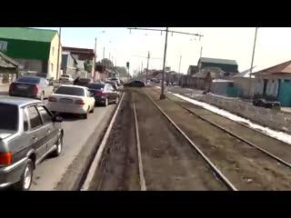 Перекрыли проезд по ул. 24-я Северная ()
