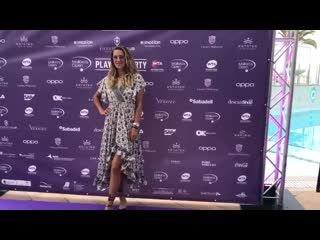 Victoria azarenka attends at players party mallorca open 2019