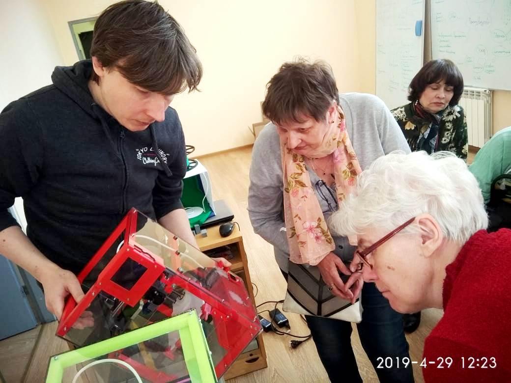 МИТ Спутник - экскурсия пенсионеров
