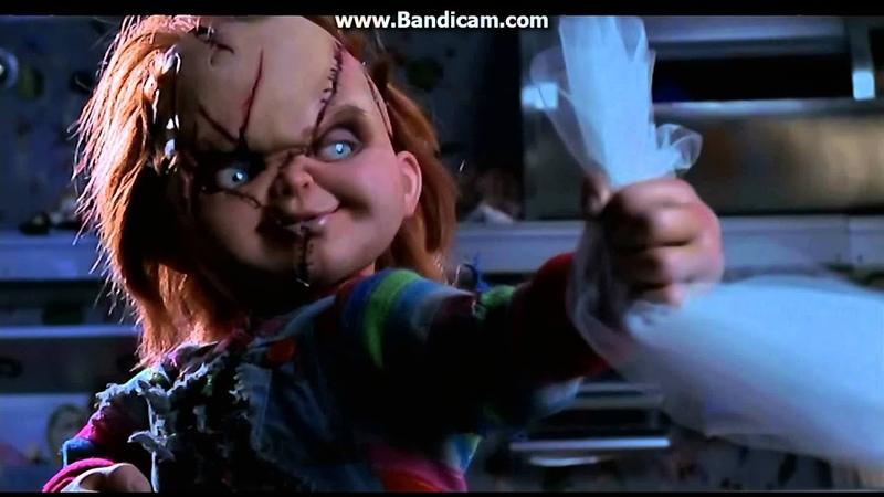 Chucky und seine Braut Tiffany´s tod Deutsch