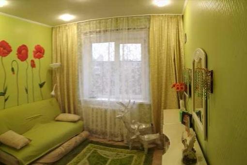 квартира в панельном доме Русанова 8