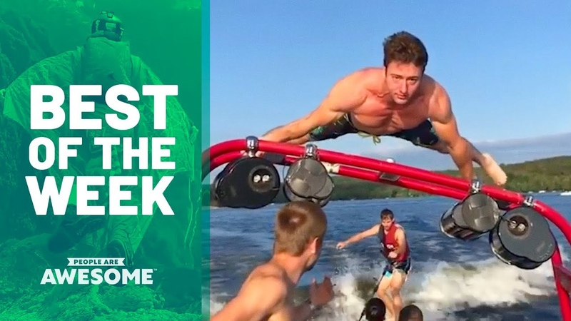 Wakeboarding, Wingsuits Tire Workouts | Best of the Week