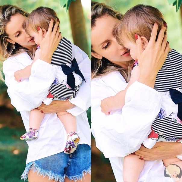 Светлана Лобода впервые поделилась фото с младшей дочкой Тильдой
