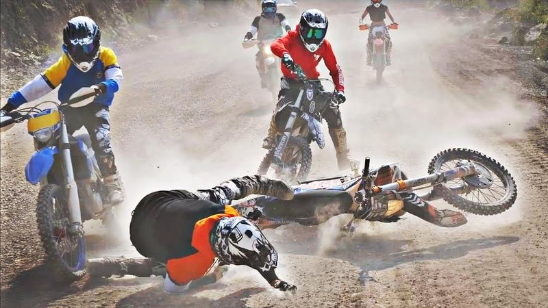 Big Supermoto Dirtbike Fail Compilation 2019