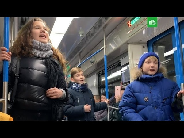 Участники Ты супер! устроили флешмоб в метро