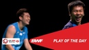 Play of the Day YONEX SUNRISE India Open 2019 Semifinals BWF 2019