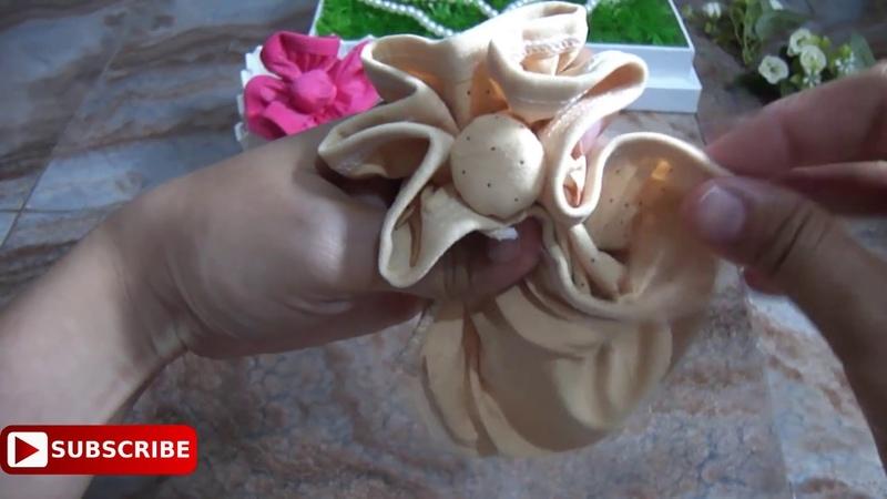 TUTORIAL HANTARAN PAKAIAN DALAM. Melipat Celana Dalam Menjadi Bunga. Cantik Mudah