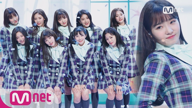 [fromis_9 - To Heart] Debut Stage     M COUNTDOWN 180125 EP.555