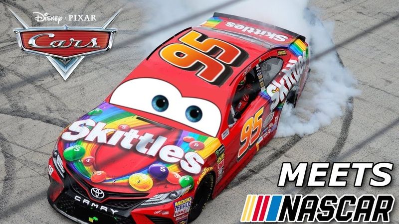 If the Cars Movie was actually NASCAR