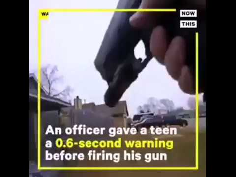 14 YEARS OLD WITH BB GUN VS COP