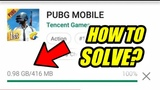 PUBG Mobile 0.12.0 Update Glitch Play Store Glitch How to Solve