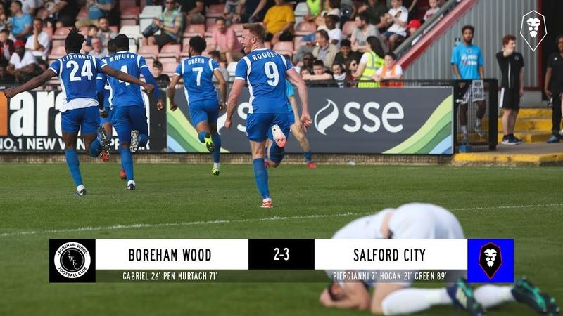 Boreham Wood 2 3 Salford City The National League 19 04 19