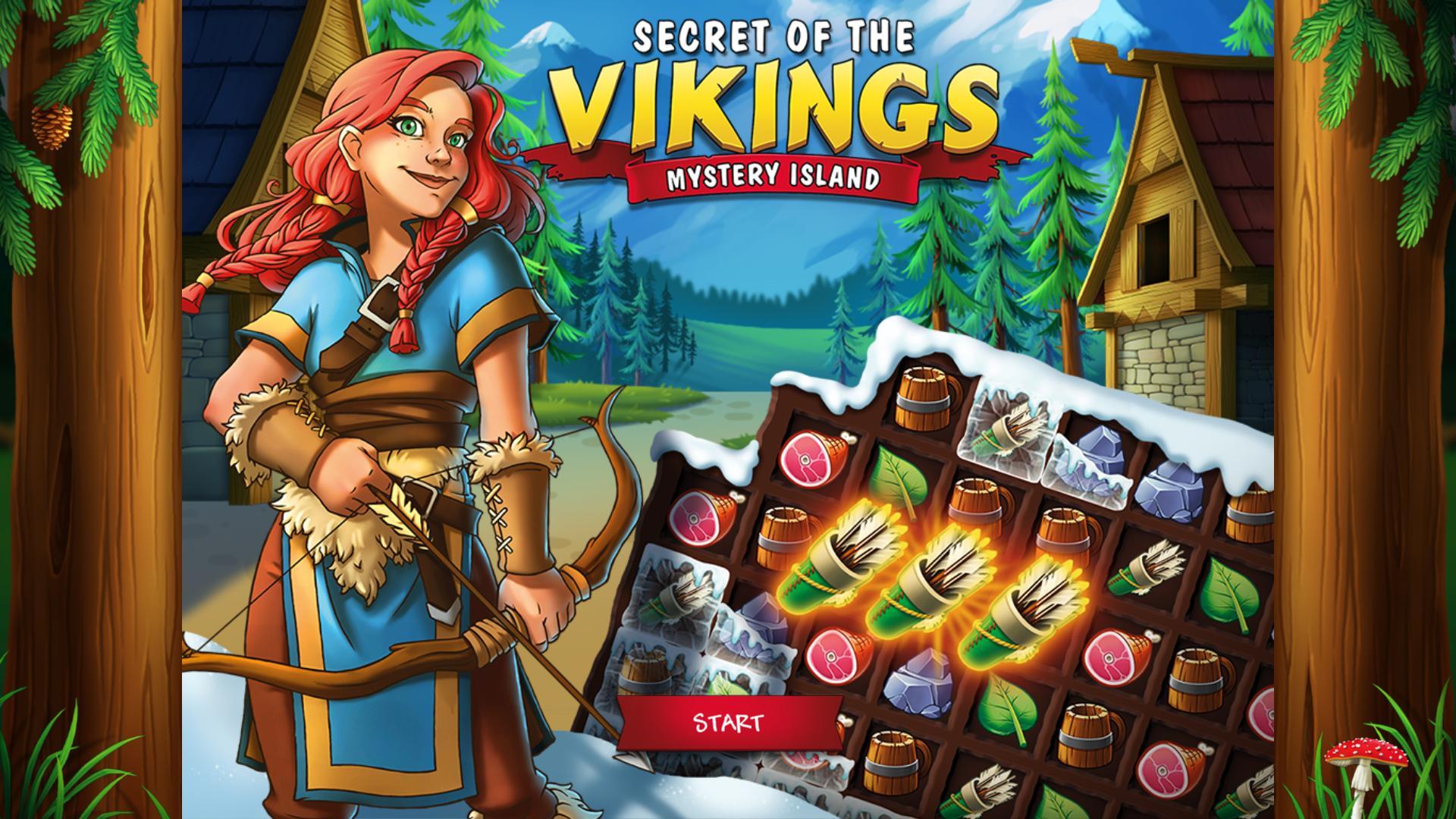 Секреты викингов: Тайна острова | Secrets of the Vikings: Mystery Island (En)