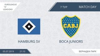 AFL19. EuroLeague. UZAO/ZAO. Division A. Day 7. Hamburg SV - Boca Juniors.