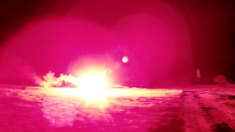 Испытание КПМ старый светосигнальный буй.