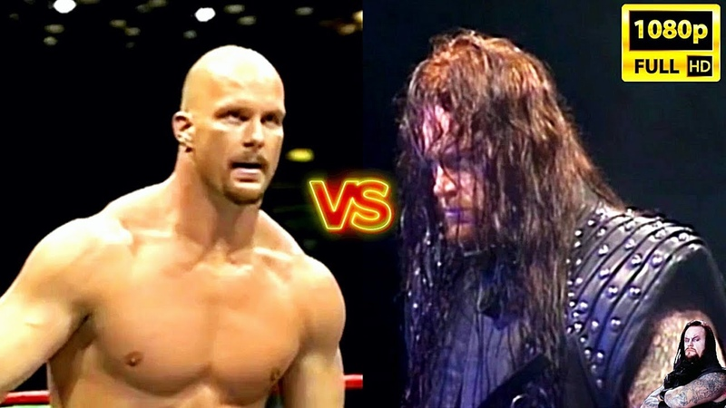 The UnderTaker Vs Stone Cold Steve Austin - Match broadcast the first time ( 1997 ) HD