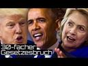 Es wird eng für Obama und Clinton 30-facher Gesetzesbruch bestätigt