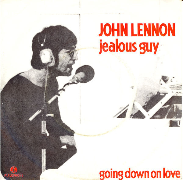 JOHN LENNON - JEALOUS GUY Jealous Guy развилась из написанной несколько лет назад Child Of Nature. Группа The Beatles не стала её ни играть, ни записывать. Может быть, из-за того, что на той
