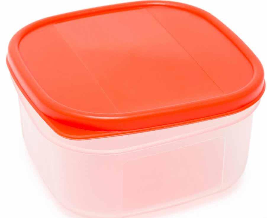 Полипропиленовый пластиковый контейнер.