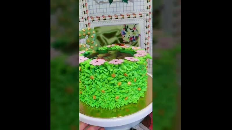 Тортик Маши и медведь