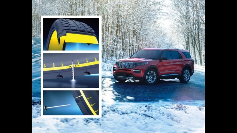 2020 Ford Explorer Michelin Selfseal lastikleri ile - yolda kalmak yok