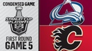 04/19/19 First Round, Gm5: Avalanche @ Flames
