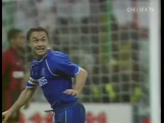 The iconic san siro stadium in milan is to be demolished... - - we will never forget the night dennis wise did this!