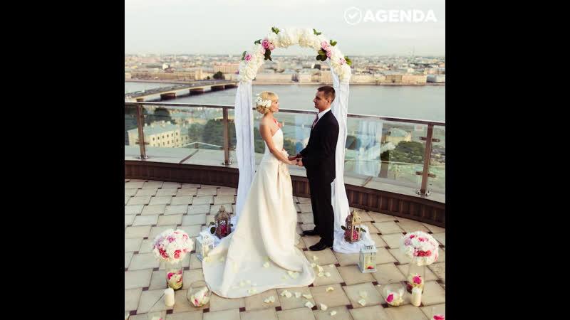 5 необычных мест для проведения свадьбы