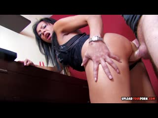 Kinky babe gets fucked in various p