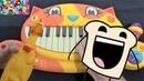 OMFG - HELLO (CAT PIANO, CHICKEN, DRUM CALCULATOR COVER)